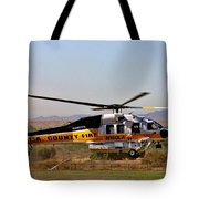 La County Fire Air Support Tote Bag