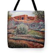 La Cueva New Mexico Tote Bag