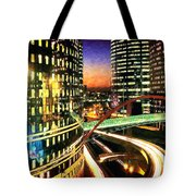 La Defense By Night - Paris Tote Bag