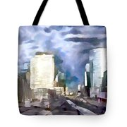 Paris La Defense Tote Bag