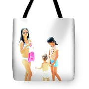 La Famille Tote Bag