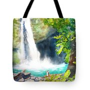 La Fortuna Waterfall Tote Bag
