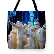 La Foule Illuminee Tote Bag