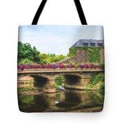 La Gacilly, River Aff, Brittany, France Tote Bag