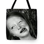 La Grimace Tote Bag
