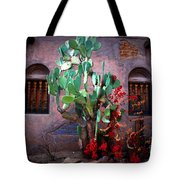 La Hacienda In Old Tuscon Az Tote Bag by Susanne Van Hulst