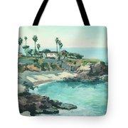 La Jolla Cove In December, La Jolla, San Diego, California Tote Bag