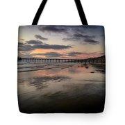 La Jolla Pier Tote Bag