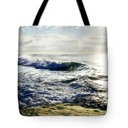 La Jolla Towards Casa Cove Tote Bag