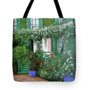 La Maison De Claude Monet Tote Bag