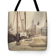 La Maria At Honfleur Tote Bag