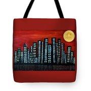 L.a. Moon Tote Bag