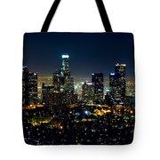 L.a. Night View Tote Bag