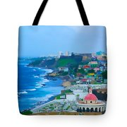 La Perla In Old San Juan Tote Bag
