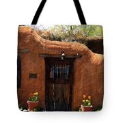 La Puerta Marron Vieja - The Old Brown Door Tote Bag