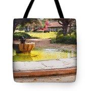 la Purisima Fountain Tote Bag