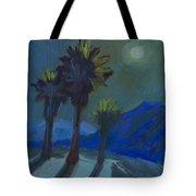 La Quinta Cove And Moonlight Tote Bag