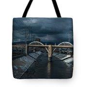 Los Angeles River Autumn 2015 Tote Bag