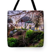 L A Skyline With Griffith Observatory - Panorama Tote Bag