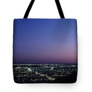 L.a. Sunset Tote Bag