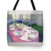 La Table De Fernande Tote Bag