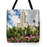 La Temple Pink Tote Bag