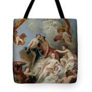 La Toilette De Venus Tote Bag by Francois Lemoyne