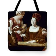 La Tour: The Cheat, C1625 Tote Bag