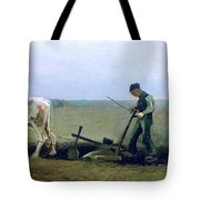 Labourer And Peasant  Tote Bag