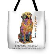 Labrador Retriever Pop Art Tote Bag