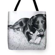 Labrador Samy Tote Bag