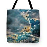 Labradorite Rain Tote Bag