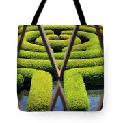 Labyrinth At The Getty Tote Bag