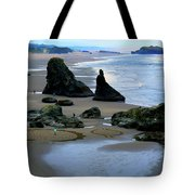 Labyrinths At Bandon Beach Tote Bag