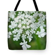 Lace On Stems Tote Bag