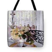 Lacey Curtain And Pastry Tote Bag