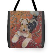 Wire-haried Fox Terrier Tote Bag