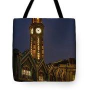 Lackawanna Clock Tower Tote Bag
