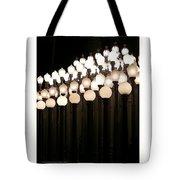 Lacma Lights 3 Tote Bag