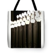 Lacma Lights 4 Tote Bag