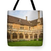 Lacock Abbey Cloisters 2 Tote Bag