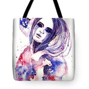 Lacrima Nebula  Tote Bag by Alexandra-Emily Kokova