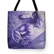 Lacrosse  Tote Bag by Kerdy Mitcho