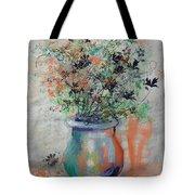 Lacy Bouquet Tote Bag