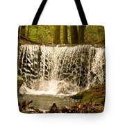 Lacy Waterfall Tote Bag