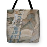Ladder To The Past Tote Bag