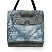 Ladders On A Fishing Boat Tote Bag