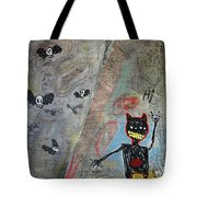 Ladies And Gentlement, The Devil Tote Bag by Rick Baldwin