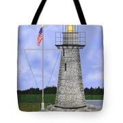 Ladies Delight Lighthouse Maine Tote Bag