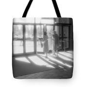 Ladies Leaving The Mall  Tote Bag